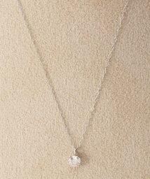 DECOUVERTE/《WEB限定》PT 0.2ct ダイヤモンド tネックレス/500976300