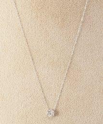 DECOUVERTE/《WEB限定》PT 0.2ct ダイヤモンド ネックレス/500976301