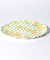 Afternoon Tea LIVING/レモン柄メラミンオーバルプレート 30cm/500927115