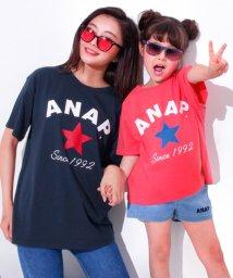ANAP KIDS/星ロゴプリントBIG-Tシャツ/500968266