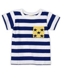 branshes/星ポケット半袖ボーダーTシャツ/500975495
