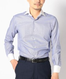 SHIPS MEN/SD: 【ALBINI社製生地】ハウンドトゥース クレリック ワイドカラー シャツ/500976361
