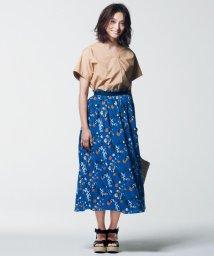 JIYU-KU /【マガジン掲載】LIBERTY SUMMER HOLIDAY プリント スカート/500978515