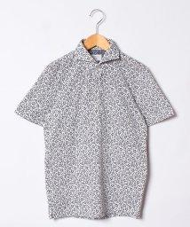 SSENTIAL GARMENT MEN'S BIGI/カノコ素材ポロシャツ/フラワープリント 【JAPAN MADE】/500968283