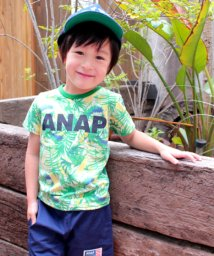 ANAP KIDS/リーフ総柄Tシャツ/500972203