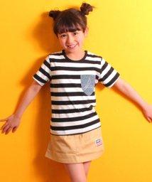 ANAP KIDS/ポケットデニムTシャツ/500972204