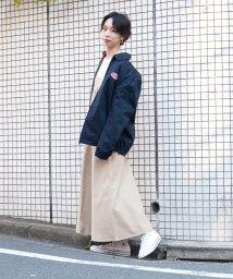 grn/デニム/ツイル生地のジャンパースカート/500977878