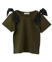 31 Sons de mode/ショルダーリボンTシャツ/500979056