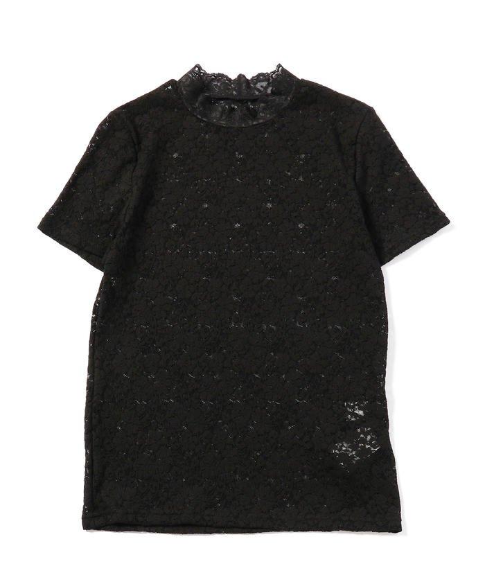 Ray BEAMS / ストレッチレース 半袖 Tシャツ
