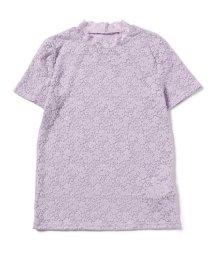 BEAMS OUTLET/Ray BEAMS / ストレッチレース 半袖 Tシャツ/500924170