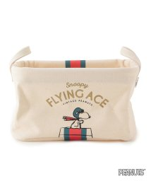 Adam et Rope Le Magasin/【VINTAGE PEANUTS】PILIER 収納ボックススクエアSS  FLYING ACE/500939308