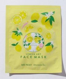 Afternoon Tea LIVING/レモン柄フェイスマスク/500960342