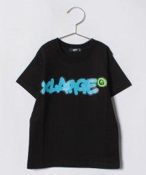 XLARGE KIDS/ネオンタギングロゴTシャツ/500965033