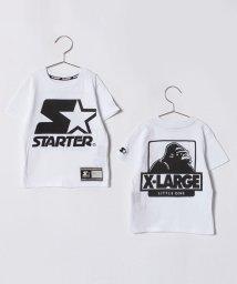 XLARGE KIDS/XLK×STARTER S☆ロゴTシャツ/500965034