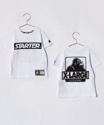 XLARGE KIDS/XLK×STARTERボックスロゴTシャツ/500965035