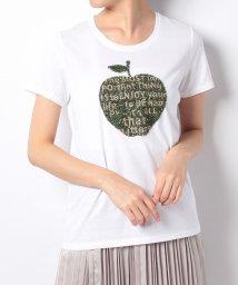 en recre/【PUPULA】アップルモチーフTシャツ/500970927