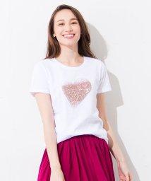 en recre/【PUPULA】ハートモチーフTシャツ/500970928