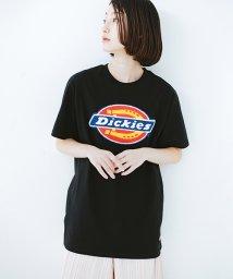 haco!/Dickiesロゴサガラ刺しゅうTシャツ/500981579