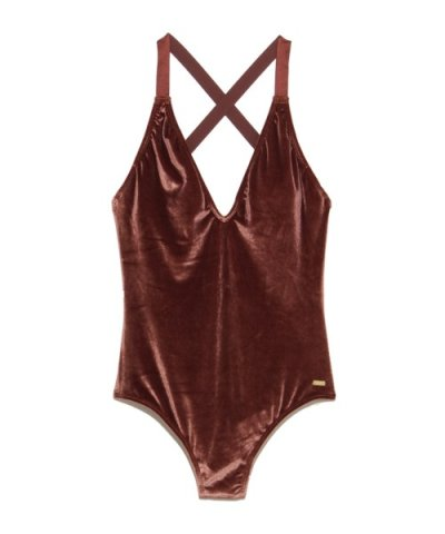 【ROXY】WESTERN ESCAPE VELVET ONE PIECE