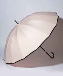 pink trick/BESUNNYビーサニー長傘【16本骨】パイピング(晴雨兼用UVカット耐風軽量撥水)/500974349