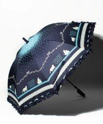 axes femme kids/星空ねこシルエット雨傘/500975821