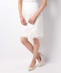 Dear Princess/【セットアップ対応商品】バイカラーレーススカート/500976944
