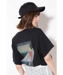ROSE BUD/バッグプリントTシャツ/500980803