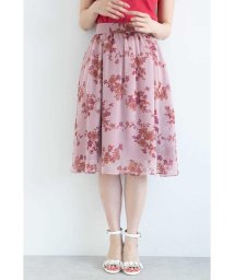 PROPORTION BODY DRESSING/【CanCam  7月号掲載】◆フラワーブーケプリントスカート/500984063