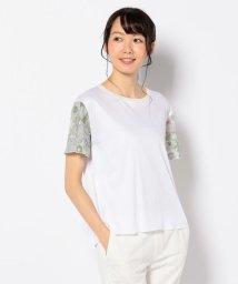 JIYU-KU /【洗える】LIBERTY プリント フレア袖カットソー/500984423