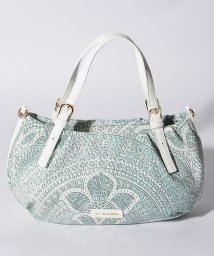 LA BAGAGERIE/かぎ針編み柄トートバッグS/500975002