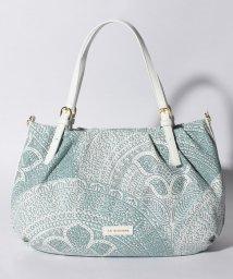 LA BAGAGERIE/かぎ針編み柄トートバッグM/500975003