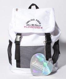 Lovetoxic/ハートパスケース付リュック/500974616