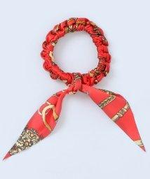 ninon/スカーフ柄 リボンヘアゴム/500982219