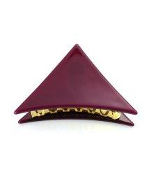 ninon/アセチ べっ甲柄 三角ヘアクリップ/500982222