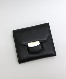ninon/【牛革】メタルプレート二つ折り財布/ウォレット/500982366
