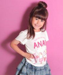 ANAP KIDS/アイスプリント袖フレアトップス/500982561