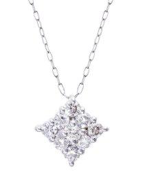 JEWELRY SELECTION/Pt900天然ダイヤモンド計0.3ctデザインネックレス/500985323