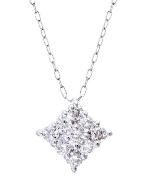 JEWELRY SELECTION(ジュエリーセレクション)/Pt900天然ダイヤモンド計0.3ctデザインネックレス/NSUZ495003CTA40PT