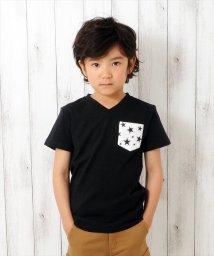 GLAZOS/スターポケット半袖Tシャツ/500985330