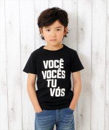GLAZOS/ロゴモチーフ半袖Tシャツ/500985331
