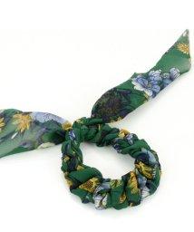 ninon/スカーフ柄 リボンヘアゴム/500986417