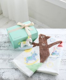 Afternoon Tea LIVING/【WEB限定】ベビー身長計バスタオル&ラトルギフトセット/500809256