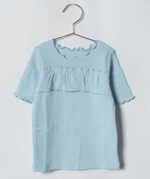 LAGOM/テレコフリルTシャツ/500958263