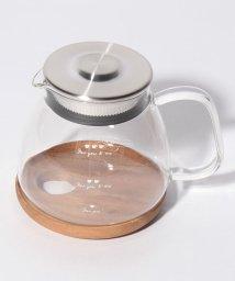 Afternoon Tea LIVING/ウッドトレー付き耐熱ガラスティーポット/500960301