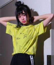 ANAP GiRL/総柄ロゴTシャツ/500982527