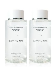 HYALU MILLEFEUILL/HMローションMM(モア・モイスト)150mL(化粧水・しっとりタイプ)2本セット/500985595