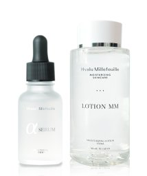 HYALU MILLEFEUILLE/HMアルファセラム30mL・HMローションMM(モア・モイスト)150ml2点セット/500985597