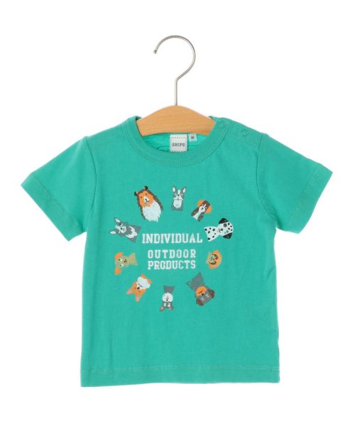 SHIPS KIDS(シップスキッズ)/OUTDOOR PRODUCTS×SHIPS KIDS:プリント TEE(80~90cm)/512312241