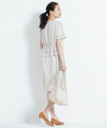 JIYU-KU /【洗える】ブロッキング ワンピース/500990126