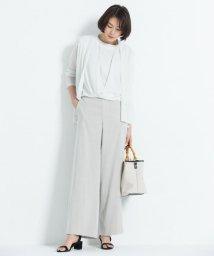 JIYU-KU /【洗える】リネンミラクルストレッチ パンツ/500990130